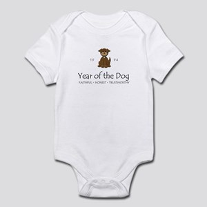 """Year of the DOg"" [1994] Infant Bodysuit"